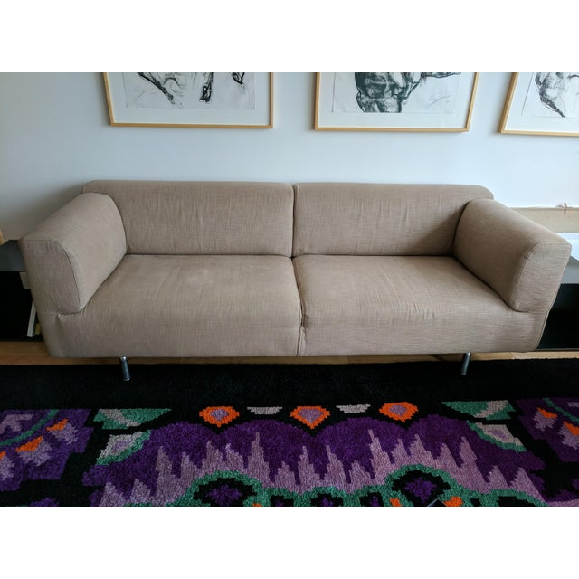 Cassina Met 250 Beige Sofa by Piero Lissoni - Image 2 of 10