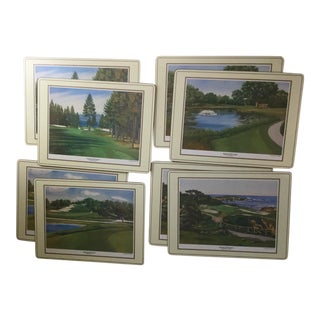 American Golf Course Placemats - Set of 8