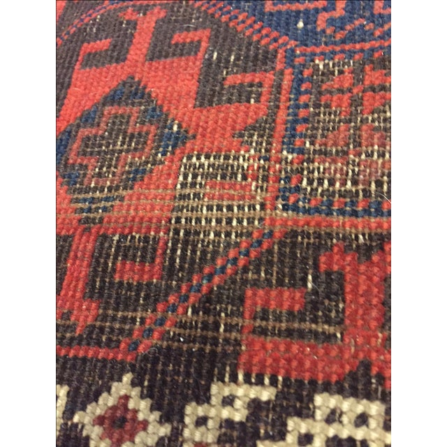 "Vintage Tribal Persian Rug - 3' x 5'10"" - Image 3 of 7"