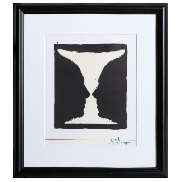 Jasper Johns Cup 2 Picasso Lithograph - Image 2 of 3