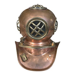 Copper & Brass Replica Divers Helmet