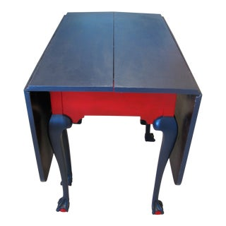 Chippendale Style Drop Leaf Table