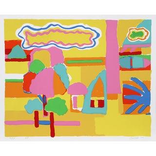 """John Grillo, """"Landscape I,"""" Serigraph"""