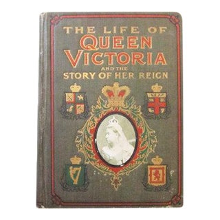 """The Life of Queen Victoria and the Story of Her Reign"" 1901 Antique English Book"