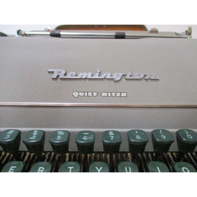 Vintage Remington Typewriter With Case - Image 5 of 9