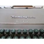 Image of Vintage Remington Typewriter With Case