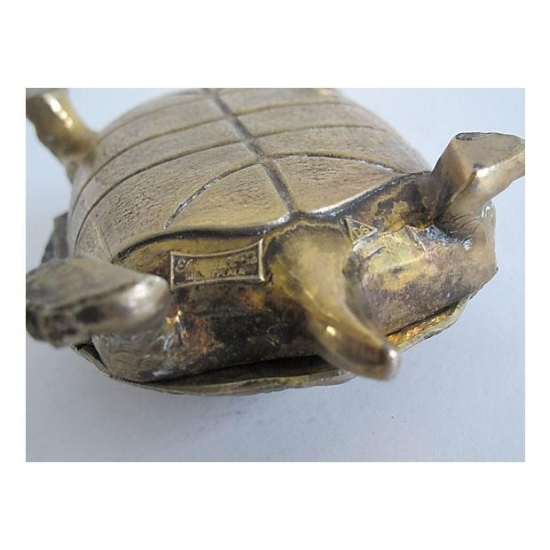 Silverplated Turtle Box - Image 5 of 5