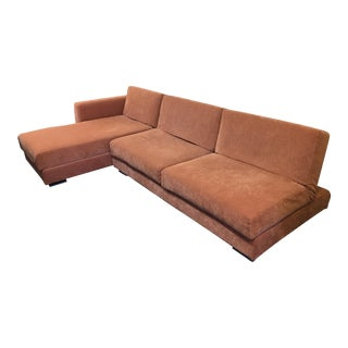 Italian Modern Orange Sectional