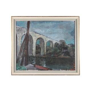 Vit Bron Oil Painting on Canvas