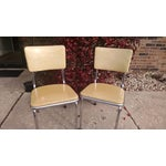 Image of Howell Vintage Chrome Chairs - A Pair