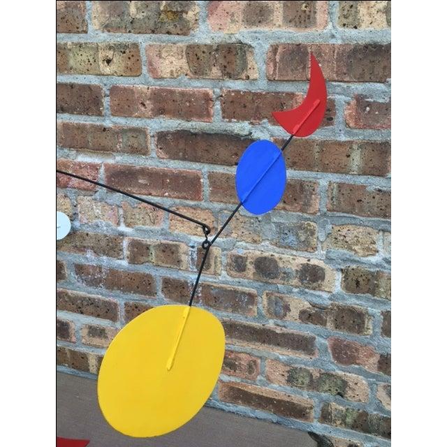 Vintage Calder Style Stabile Mobile Sculpture - Image 9 of 11