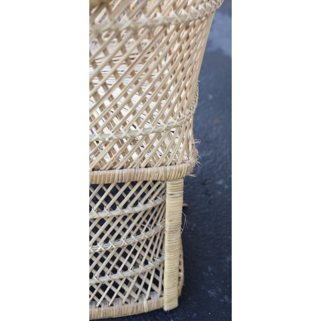 Vintage Rattan Porter Chair - Image 8 of 9