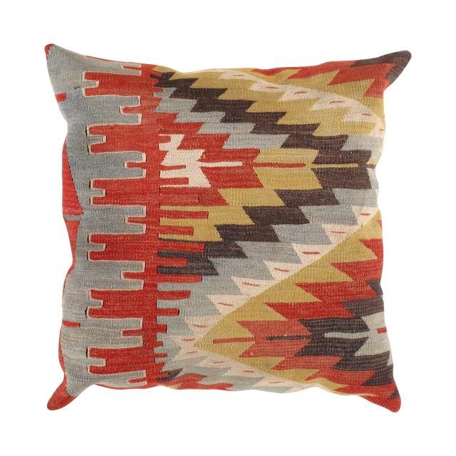 Vintage Kilim Pillow - 2' X 2' - Image 1 of 3