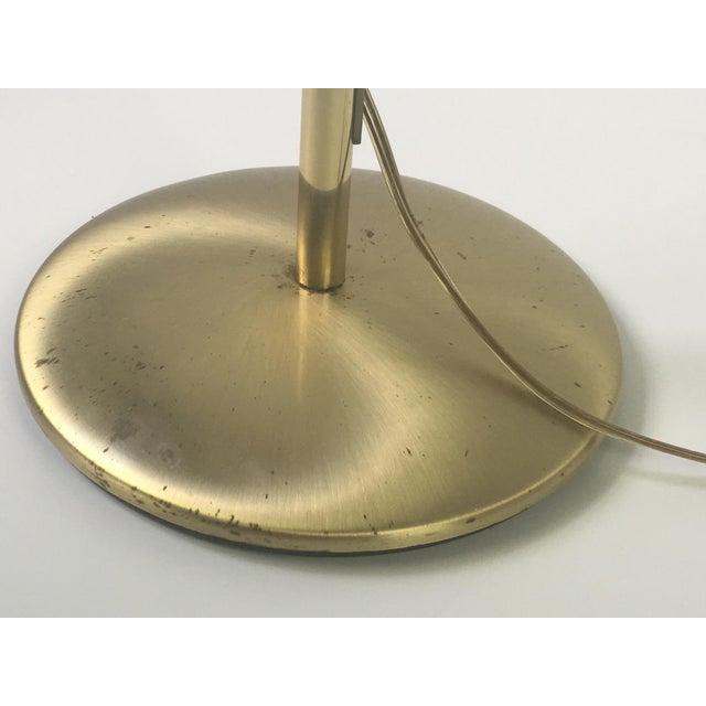 Brass Floor Lamps With Swing Arm: Brass Swing Arm Holtkoetter Floor Lamp