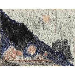 Moonlit Landscape by L. Lengyel