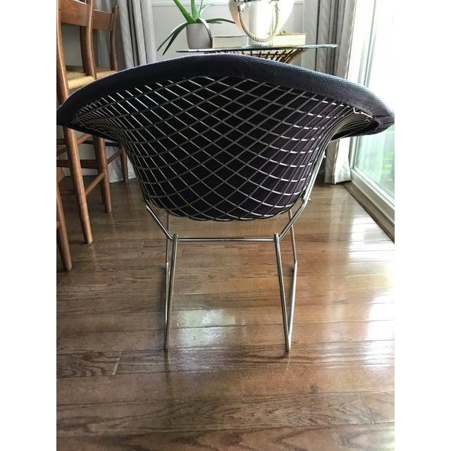 Bertoia Knoll Mid-Century Modern Chrome Diamond Chair - Image 3 of 9