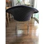 Image of Bertoia Knoll Mid-Century Modern Chrome Diamond Chair