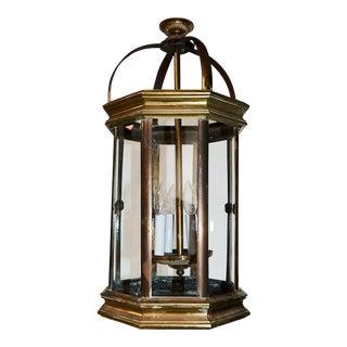 Pair of English Lantern Hanging Lamps