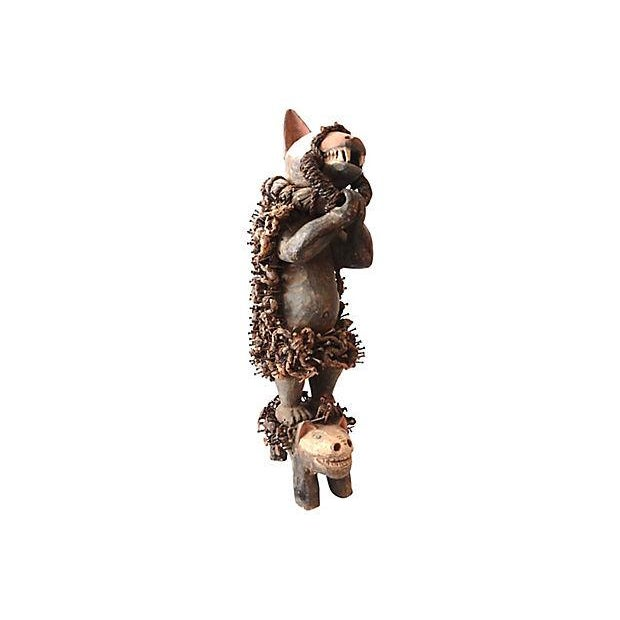 Nkisi Hyena Sculpture - Image 8 of 8