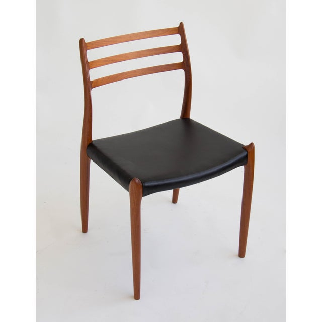 Niels Møller #78 Dining Chairs - Set of 6 - Image 8 of 11