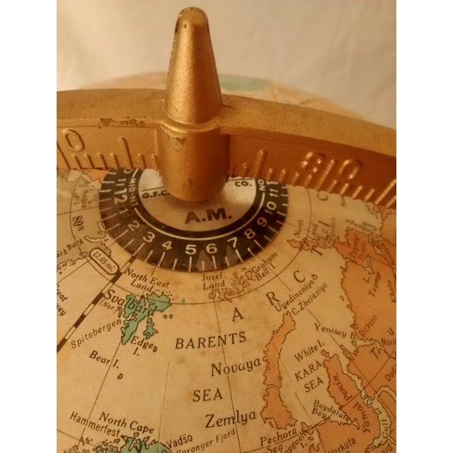 MCM Crams Imperial World Globe on Wooden Stand - Image 4 of 10