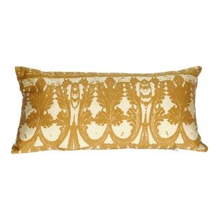 Palazzo Gold Silk Pillow