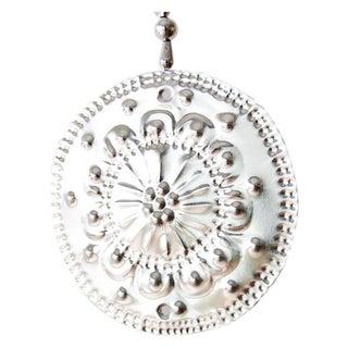 Hanging Aluminum Circle Ornament