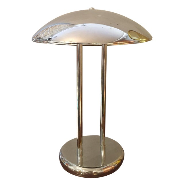 Image of Vintage Chrome Table Lamp