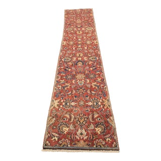 "Vintage Persian Floral Runner - 2'3""x11'9"""