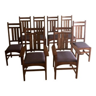 Stickley Mission Collection Dining Chairs - 8