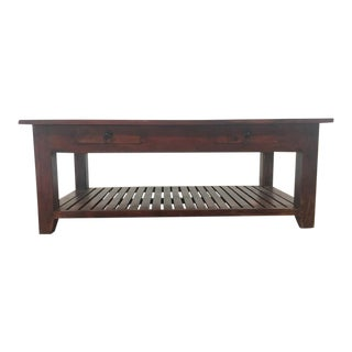 Vintage Two-Drawer Coffee Table