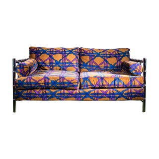 Chromecraft Velvet Loveseat