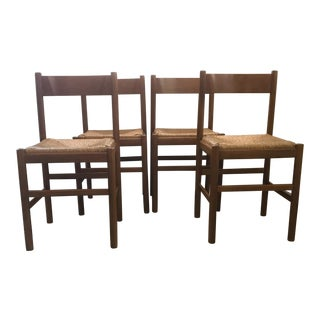 Vico Magistretti Carimate Dining Chairs - Set of 4