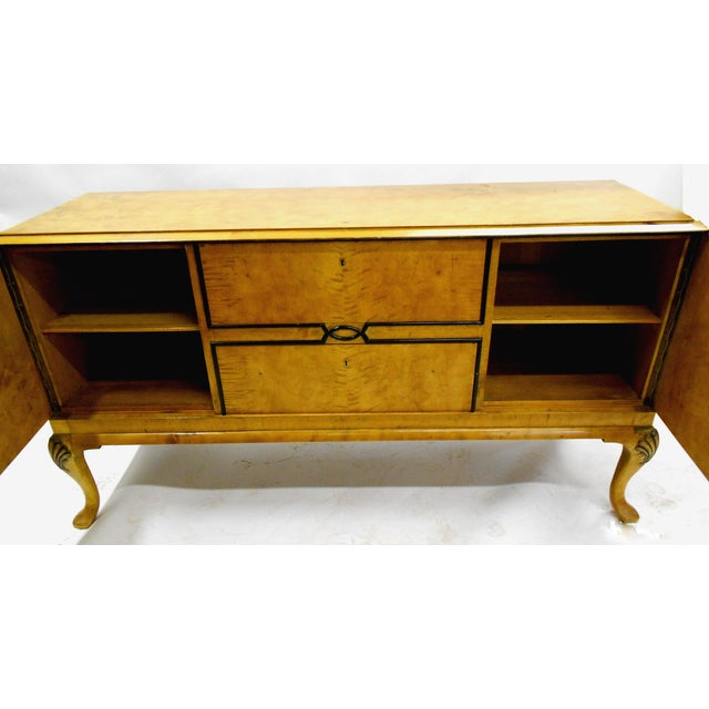 1880s Danish Birch Credenza/Buffet - Image 3 of 7