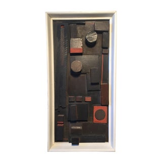 Louise Nevelson Style Mid-Century Assemblage Art