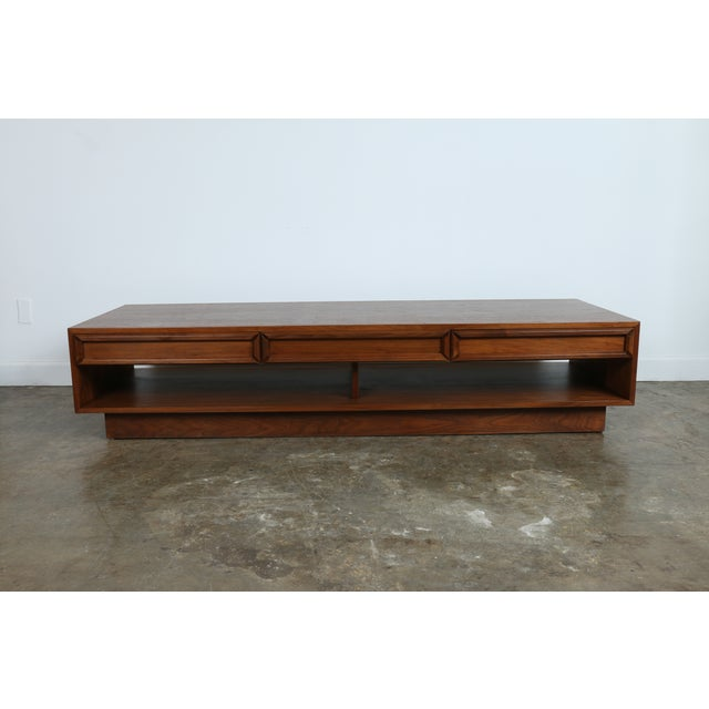 Mid Century Coffee Table John Keal For Brown Saltman At: John Keal Coffee Table For Brown & Saltman