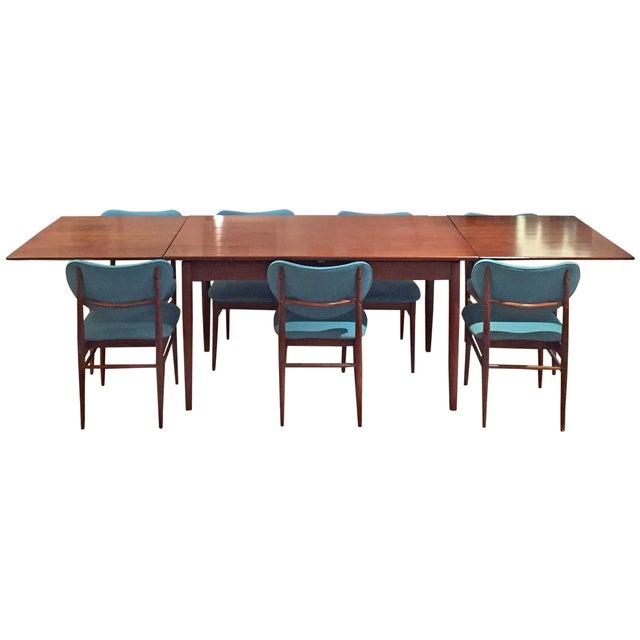 Image of Vintage Mid-Century Modern Dining Set