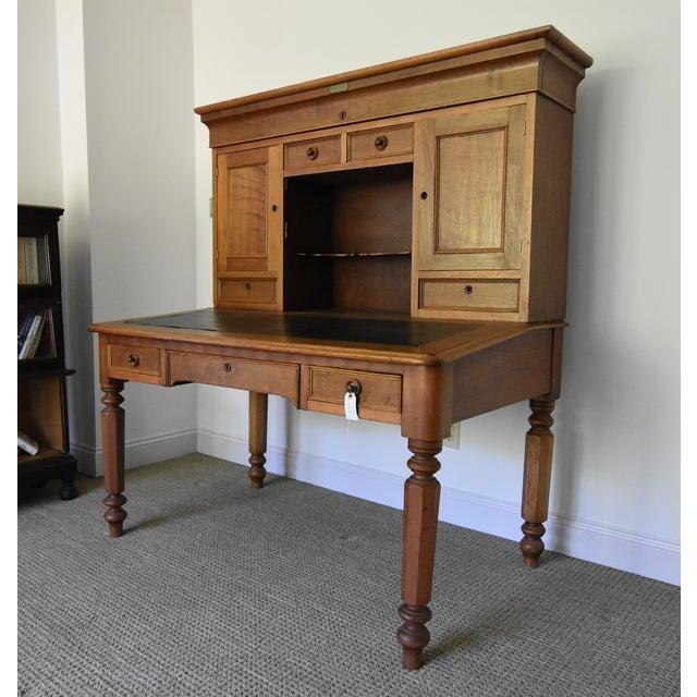 Antique Post Office Desk - Image 3 of 10 - Antique Post Office Desk Chairish