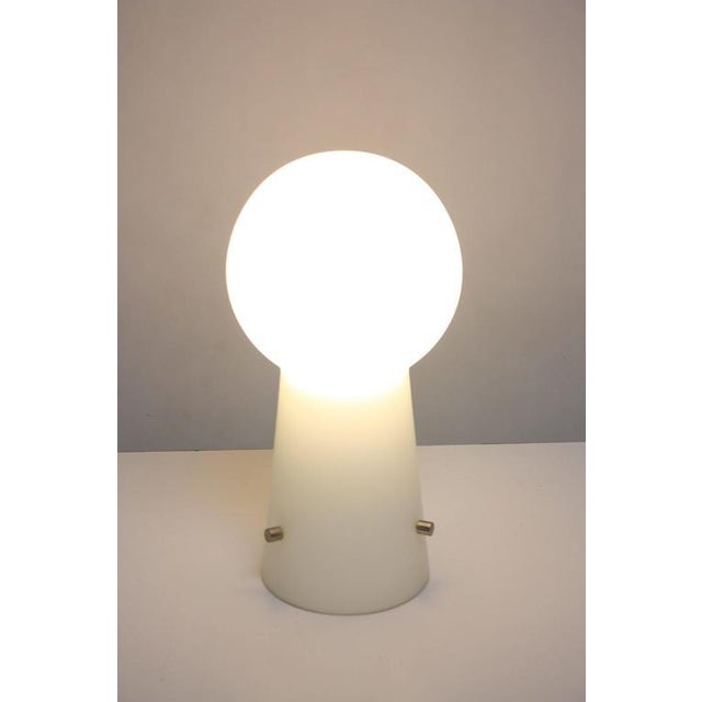 Image of Swedish Modern Cased Glass Lamp by Laurel