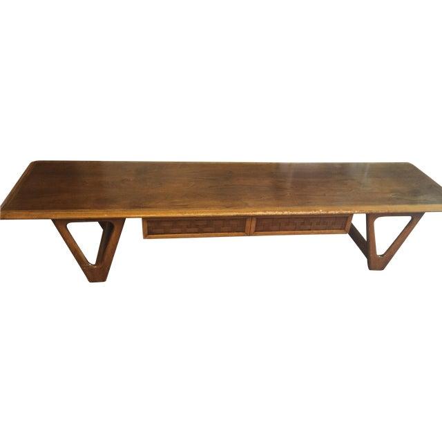 lane mid century perception coffee table chairish. Black Bedroom Furniture Sets. Home Design Ideas