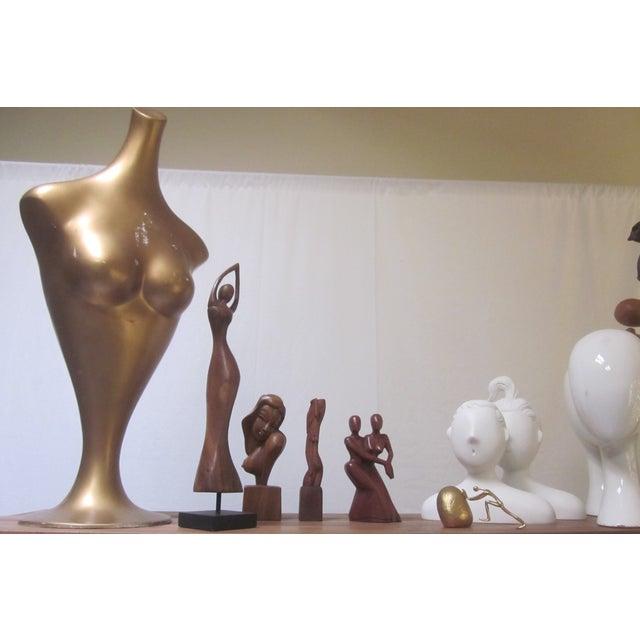 Image of Modernist Fiberglass Mannequin Tulip Base