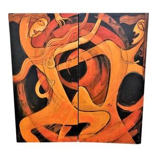 Rhythm of Life by Lalit Ranjan Maity - a Pair