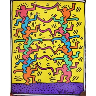 1985 Keith Haring Offset Litho Emporium Capwell