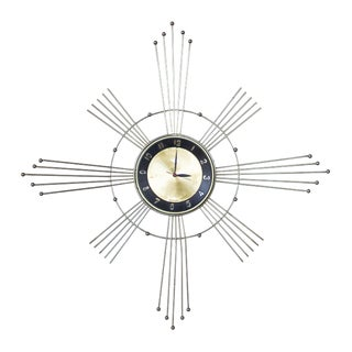Lux Starburst Wall Clock