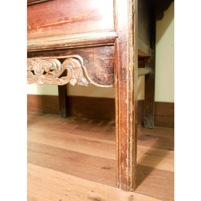 """Antique Ming """"Butterfly"""" Coffer, Camphor Wood - Image 6 of 9"""