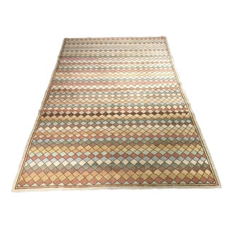 Mid Century Modern Turkish Rug - 6′4″ × 9′3″