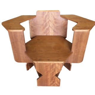 David Peterson Artisan Made Post Modern Club Chair