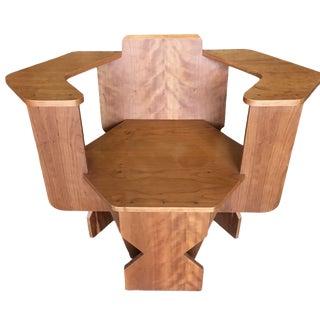 David Peterson Artisan Made Post Modern Club Chair