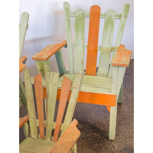 Family Set of Adirondack Chairs - Image 8 of 11