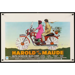 Belgian Film Poster - Harold & Maude
